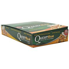Quest Nutrition Protein Bars, Peanut Butter Supreme, Pack of 12 - Quest bars are the perfect nutrition bar for anyone looking to get top quality protein while dropping some carbs from their diet. They're as delicious and convenient as a candy bar, while maintaining ... - Nutrition Bars - Health
