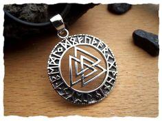 """Wikingerschmuck Anhänger  /""""Wikingerboot/"""" aus Bronze Replik Amulett"""