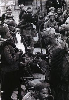 La participation des troupes marocaines dans la guerre civil espagnole (1936-1939)