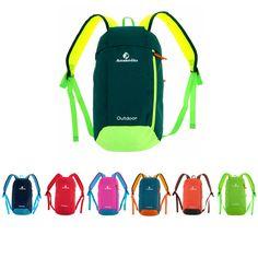 10L Outdoor Shoulder Backpack Rucksack Unisex Soft Bag Sports Camping Hiking
