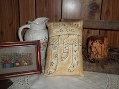 Hey, I found this really awesome Etsy listing at https://www.etsy.com/listing/244559093/hand-made-grubby-pillow-stockings