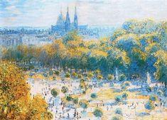 Claude Monet - The Jardin des Tuileries, 1875