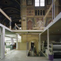 Reconversie van Sint-Antonius van Paduakerk (Hoefstraatkerk) in Tilburg tot glasatelier - particulier
