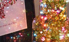Como fazer uma luminária natalina?