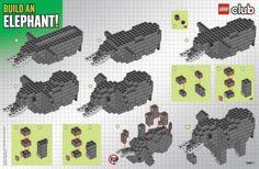 LEGO Club Build: Elephant