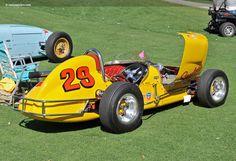 Photographs of the 1958 Kurtis Kraft Midget. An image gallery of the 1958 Kurtis Kraft M. Sprint Car Racing, Auto Racing, Vintage Race Car, Vintage Auto, Austin Seven, Smile Images, Old Race Cars, Indy Cars, Nascar