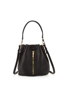 Cynnie Mini Bucket Lambskin Bag