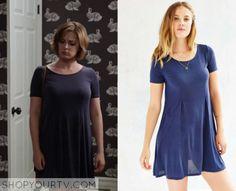 Crazy Ex Girlfriend: Season 1 Episode 7 Rebecca's Navy Flare Dress