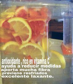 Jugo natural naranja, limón y toronja