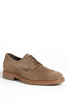 $399, Mephisto Waldo Wingtip Tan Suede 7 M. Sold by Nordstrom. Click for more info: https://lookastic.com/men/shop_items/56959/redirect