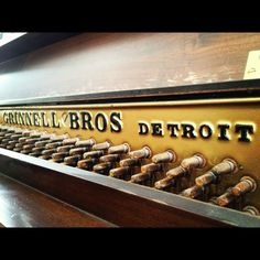Made in Detroit... Grinnell Bros pianos
