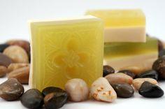 Spearmint olive oil and goats milk soap by xxtatxx on Etsy, $4.99
