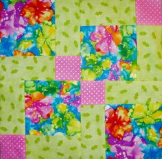 Go Together #9 Disappearing 9 Patch Block pattern $1.00 on Craftsy at http://www.craftsy.com/pattern/quilting/home-decor/go-together9-disappearing-9-patch/52796