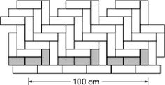Image result for herringbone brick edging