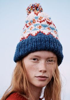 madewell home-for-the-holidays outfit idea: chamula™ fair isle beanie. #giftwell