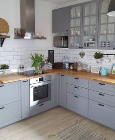 68 Best Elegant Contemporary Kitchen Decor Ideas New Home Decor 2019 Se . - 68 Best Elegant Contemporary Kitchen Decor Ideas New Home Decor 2019 Page 18 Home Decor Kitchen, Kitchen Interior, New Kitchen, Home Kitchens, Kitchen Ideas, Small Kitchens, Ikea Small Kitchen, Barn Kitchen, Minimal Kitchen