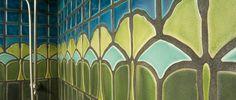 November Spotlight on Artists of the Handmade Tile Association 2012 Ceramic Design, Tile Design, Pewabic Pottery, Antique Tiles, Custom Shower, Handmade Tiles, Tile Installation, Decorative Tile, Craftsman Style