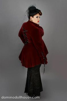 Tess Munster in Domino Dollhouse I want this jacket sooooo bad!  It awesome!