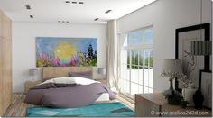 bedroom int18 vray sketchup interior