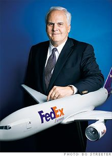 Fred Smith (Founder of FedEx)...from Marks, 'Sippi