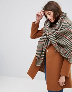 Love this check scarf for under $30