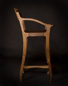 Counter Stool With Back