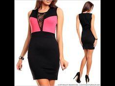 Моделирование.  Платье комбинированное с гипюровой вставкой .