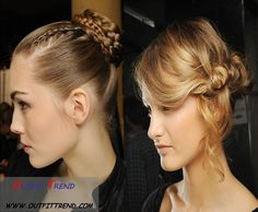Stylish Updo Hairstyle