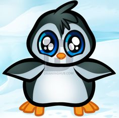 Hey folks, today I am going to be doing some super cute lessons starting with a few baby animals drawn in a cartoon style. First, we will be learning Cartoon Nail Designs, Cartoon Design, Cartoon Styles, Cute Cartoon, Penguin Drawing, Baby Drawing, I Love You Drawings, Cool Drawings, Baby Beagle