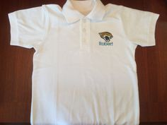 Jaguar personalized polo shirt by FleurDeLisEmbroidery on Etsy https://www.etsy.com/listing/199238414/jaguar-personalized-polo-shirt