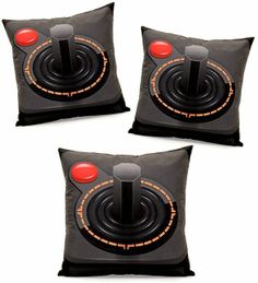Almofada em formato de joystick