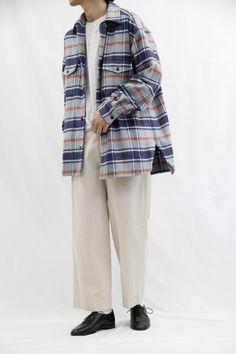 URU 2018-19秋冬コレクション 80s Guys Fashion, Japan Fashion, Fashion Pants, Mens Fashion, Fashion Outfits, Male Kimono, Next Mens, Street Style 2018, Men Looks