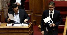 Η ώρα της αντιπαράθεσης: Τσίπρας - Μητσοτάκης στη Βουλή για ανομία και εγκληματικότητα