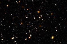 Hubble Ultra Deep Field 2003--In 2003, the Hubble telescope pointed its lens at a small empty spot in the sky, creating the Hubble Ultra Deep Field image and giving us our farthest look into deep space. Before scientists pointed the Hubble at that patch of space, they honestly expected very little to be found out there. After they developed the slides, they realized that not only were they wrong, but they ended up finding an incredible amount of previously undiscovered phenomena.