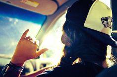 I love summer drives.<3