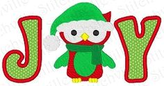 Joy Applique - 5x7 | Birds and Birdhouses | Machine Embroidery Designs | SWAKembroidery.com Stitch-Ville