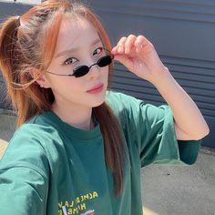 2ne1 Dara, Sandara Park, Twitter Update, Kpop, Pop Group, Parks, Round Sunglasses, Instagram, Random Pictures
