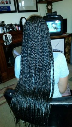 Extra Long Box Braids                                                                                                                                                                                 More