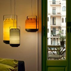Chou 'chinese shadows' pendant lighting is a very interesting design which has been created by the design studio Yonoh for LZF Lamps in Spain Suspended Lighting, Modern Lighting, Pendant Lamp, Pendant Lighting, Light Table, Candle Sconces, Wall Lights, Inspiration, Design