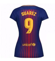 Barcelona Luis Suarez 9 Hemmatröja Dam 17-18 Kortärmad Neymar, Messi, Fc Barcelona, Ronaldo, Real Madrid, Football, Sports, Soccer, Hs Sports