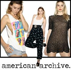 American Archive Vintage  Runs on teamwork, a sixth sense for buying vintage clothing, and pure awesomeness.