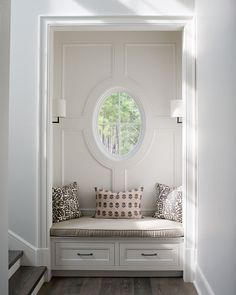 Entryway Alcove Seating/Storage