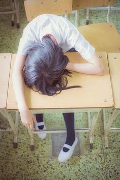 girl and school image