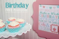 Free Birthday Printable I Heart Nap Time | I Heart Nap Time - Easy recipes, DIY crafts, Homemaking