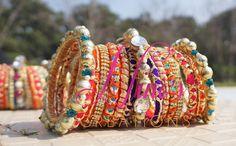#bangles #handmade #weddingasia #weddingpakistan #weddingindia by https://www.facebook.com/Ninos-creations-123853704344831/