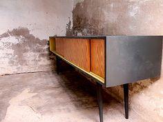 Retro style TV Unit by Brak Furniture. Customizable. Magic!