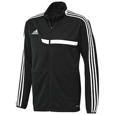 Esta es la nueva chaqueta del fútbol de adidas. Esta chaqueta es muy  apretado y f0b56764bb16