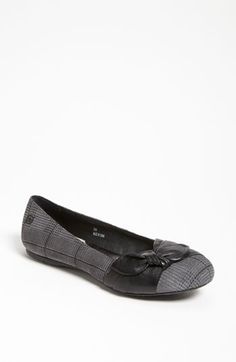 Børn 'Molly' Flat available at #Nordstrom- Way cute in plaid too!!
