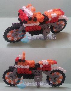 3D Moto GP perler bead sprite by alfons05