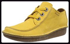 competitive price 6e128 fc6bb Clarks Funny Dream, Damen Brogue Schnürhalbschuhe, Gelb (Honey Nubuck), 36  EU